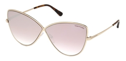 TOM FORD ELISE-02 FT 0569 S 28Z - ÓCULOS DE SOL 7fe557c50c